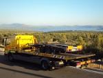 odvoz slovenských vozidiel z nehody Opuzen-Chorvátsko