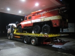 prevoz hasičskej techniky pre DHZ Sučany