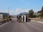 výjazd na viadukt v Žiline