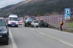 cesta II/583 pri obci Teplička,následok nebezpečnej jazdy
