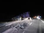 1/11 Krasno nad Kysucou, vyprostenie realizovala záchr.brigáda celú noc...