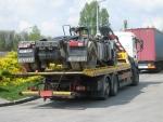 odvoz zbytku kamiona do polska